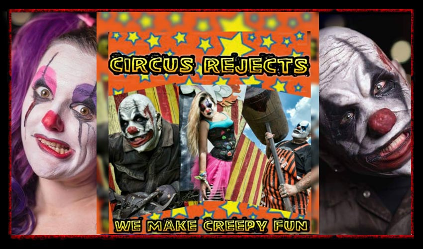Circus Rejects! GRiN, KARNAGE & Cheeks