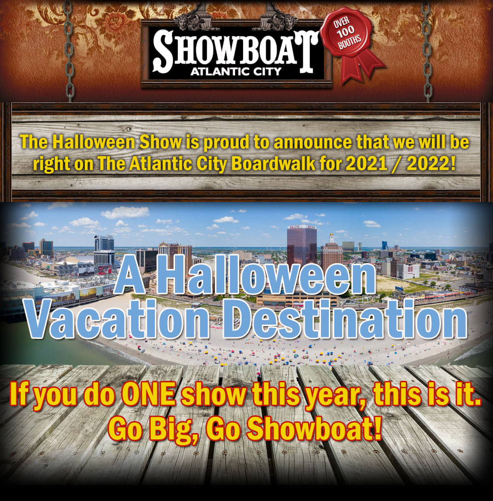 Showboat Halloween Vacation Destination